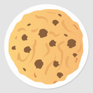 Chocolate Chip Cookie Stickers