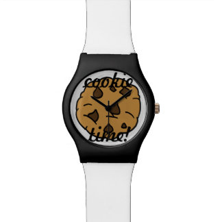 Chocolate Chip 'Cookie Time' Watch