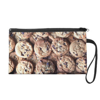 Chocolate Chip Cookie Wristlet