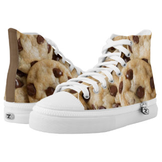 CHOCOLATE CHIP COOKIE ZIPZ SHOES