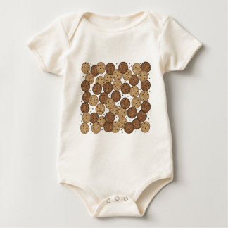 Chocolate Chip Cookies Baby Bodysuit