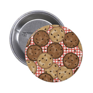 Chocolate Chip Cookies Pinback Buttons