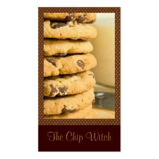 Chocolate Chip Cookies Double-Sided Standard Business Cards (Pack Of 100)