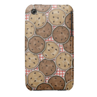 Chocolate Chip Cookies iPhone 3 Case-Mate Cases