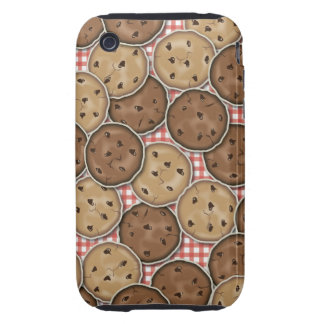 Chocolate Chip Cookies Tough iPhone 3 Case