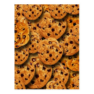 Chocolate Chip Cookies Collage Postcard