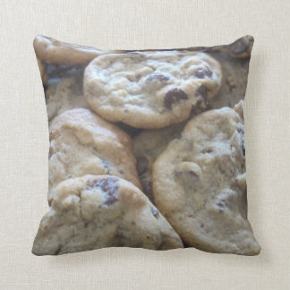 Chocolate Chip Cookies Throw Pillows