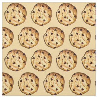 Chocolate Chip Cookies Fabric