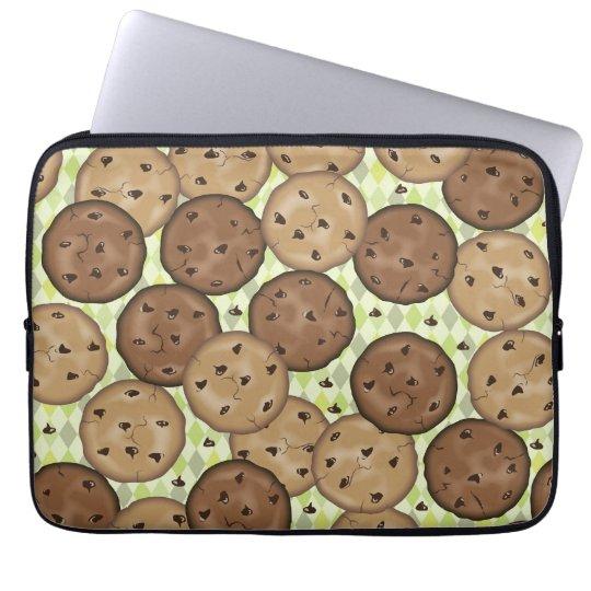 Chocolate Chip Cookies Laptop Sleeve