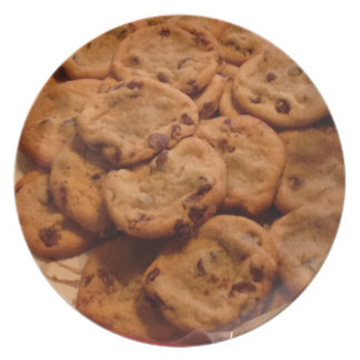 Chocolate Chip Cookies Photo Plates
