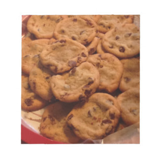Chocolate Chip Cookies Photo Scratch Pads