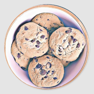 Chocolate Chip Cookies Stickers
