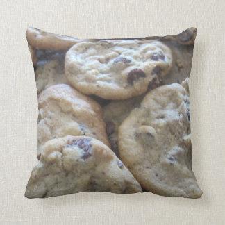Chocolate Chip Cookies Throw Cushions