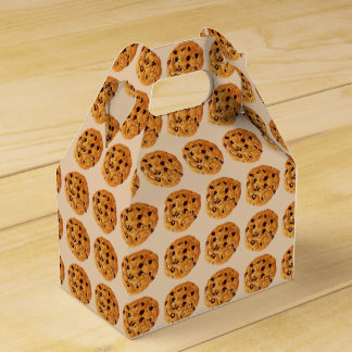 Chocolate Chip Cookies Wedding Favour Boxes