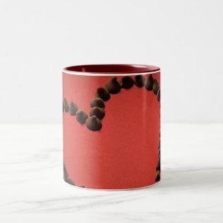 Chocolate Chip Love Valentine's Day Heart Mugs
