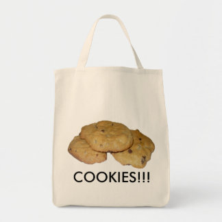 Chocolate Chip Oatmeal Cookies Grocery Tote Bag