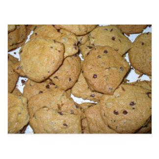 Chocolate Chip Oatmeal Cookies Postcard