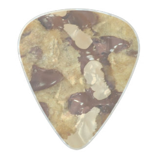 Chocolate Chip Snack Desserts Sweets Cookies Pearl Celluloid Guitar Pick