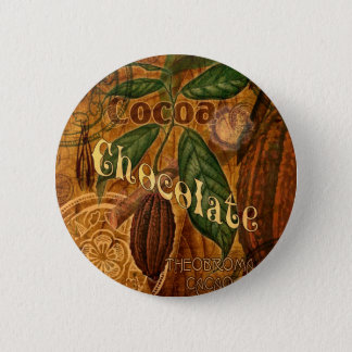 Chocolate Collage 6 Cm Round Badge