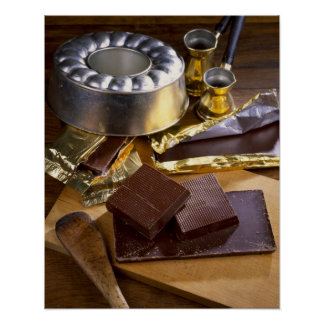 Chocolate composition For use in USA only.) Poster