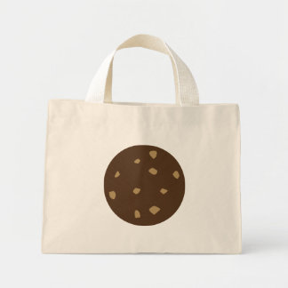 Chocolate Cookie Mini Tote Bag