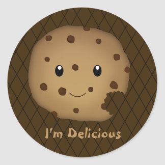 Chocolate Cookie Sticker