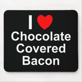 Chocolate Covered Bacon Mouse Pad