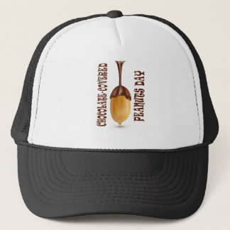 Chocolate-Covered Peanuts Day - Appreciation Day Trucker Hat