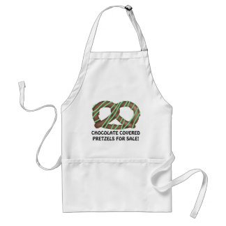 Chocolate Covered Pretzels for sale! Standard Apron