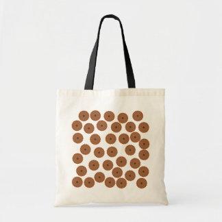 Chocolate Cupcake Pattern. Tote Bag