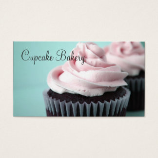 Chocolate Cupcakes Pink Vanilla Frosting