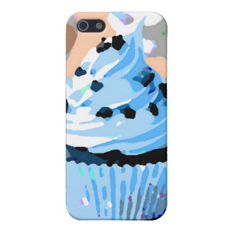 Chocolate Cupcakes with Blue Buttercream iPhone 5/5S Cover