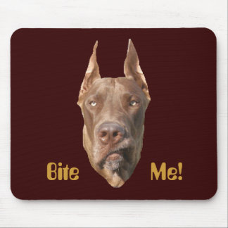 Chocolate Dane Mouse Pad