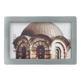chocolate dome rectangular belt buckle