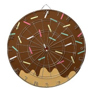 Chocolate Donut Dartboard