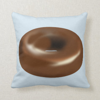CHOCOLATE DONUT Funny Pillows