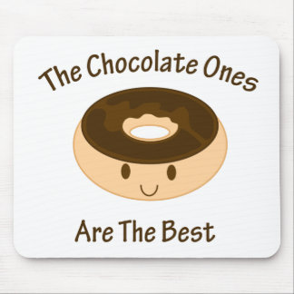 Chocolate Donut Mouse Pad