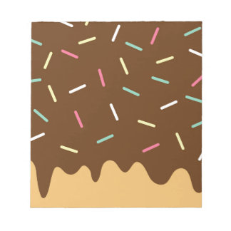 Chocolate Donut Notepad