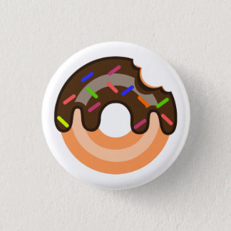 Chocolate Doughnut Pin