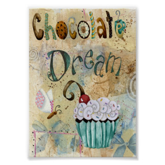 Chocolate Dream. 5X7 Poster