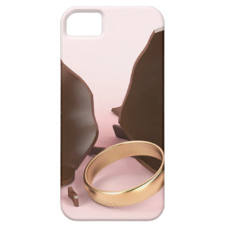 Chocolate egg and engagement ring barely there iPhone 5 case
