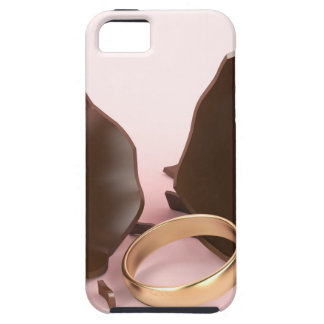 Chocolate egg and engagement ring tough iPhone 5 case