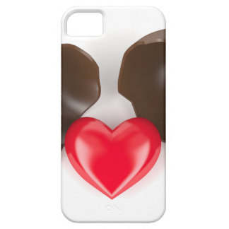 Chocolate egg and heart iPhone 5 case