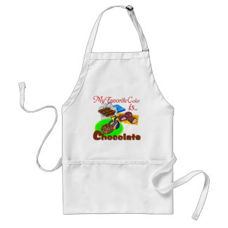 Chocolate Favorite Colour grocery sweets candy Standard Apron