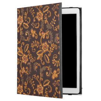 Chocolate Floral iPad Pro Case