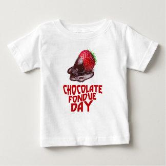 Chocolate Fondue Day - Appreciation Day Baby T-Shirt