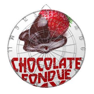 Chocolate Fondue Day - Appreciation Day Dartboard