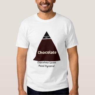Chocolate Food Pyramid T Shirt