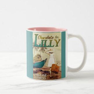 Chocolate for Lilly Two-Tone Coffee Mug