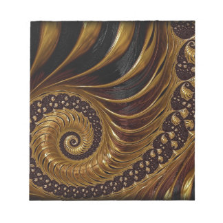 Chocolate Fractal Notepad